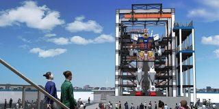 実物大の「動くガンダム」、横浜に現る 10月から一般公開 - ITmedia