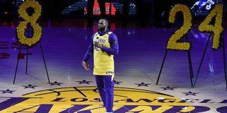 レイカーズが事故後初の試合でコービー・ブライアントを追悼、レブロン・ジェームズは「あなたは生き続ける」   NBA日本公式サイト