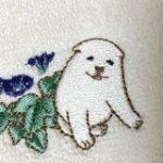 画家・円山応挙が描いた子犬のグッズがめちゃくちゃ癒される!ハンドタオルやクリアファイルなど、何ともいえない表情がよき – Togetter