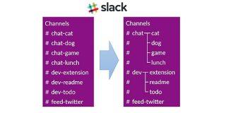 【Slack】チャンネル一覧を階層表示する方法 | ワーカホリックダイアリー