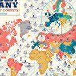 「各国に現存する最古の企業」を示したマップが公開、世界最古の現存企業は578年創業 – GIGAZINE