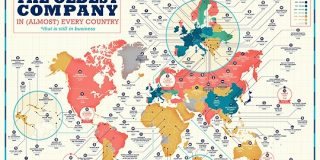 「各国に現存する最古の企業」を示したマップが公開、世界最古の現存企業は578年創業 - GIGAZINE