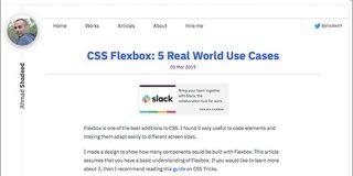 CSS Flexboxで、Webページによく使用されるUIコンポーネントを実装するテクニックのまとめ | コリス