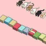 ♪ねこふんじゃった に合わせて猫ズサーするドット絵動画が最高に可愛い「最後の子がもだもだ…!」 – Togetter