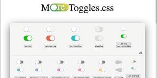 CSSで実装が面倒なトグルをさまざまなデザインで簡単に実装できるCSSの軽量ライブラリ -MoreToggles.css | コリス