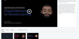 Apple、リモート学習指導を学べる動画「Apple Education Learning Series」を公開 - ITmedia