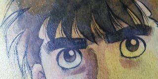 森川ジョージ先生『暇潰しになればと思い、今描いた【#はじめの一歩】の原稿を晒します。』 - Togetter