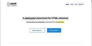 必要なのはHTMLだけ、一行加えるだけでスマホ対応のWebページができてしまう超軽量スタイルシート -MVP.css | コリス