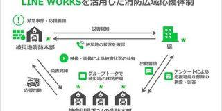 神奈川県、「かながわ消防」の取り組みで「LINE WORKS」を本格導入-初動対応力を強化 - CNET