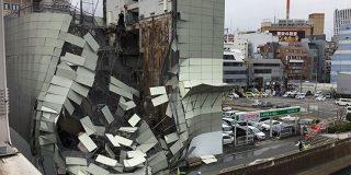 横浜駅西口のビル解体現場が倒壊→リニューアル工事中のラブホテル『サフィロ』だった「お世話になりました」 - Togetter
