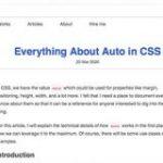 CSSのプロパティ値「auto」を使ったテクニックのまとめ、マージンやサイズや配置やFlexboxなど | コリス