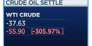 WTI原油先物で歴史的瞬間、原油の押し付け合いで逆オイルショック発生 : 市況かぶ全力2階建