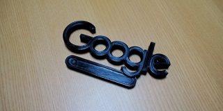 Googleの検索ページを見ていたら『武器』感が漂い始め、実際に作ってみたらこんな危険グッズになってしまった - Togetter