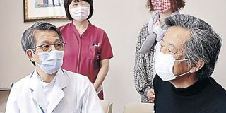 聖霊病院にフェースガード デザイン工房が寄付 | 北國新聞社