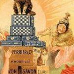 『猫と和解せよ』およそ130年前のフランスの洗剤広告 世界中の人々の中央に座る猫さんが神々しい…!「復刻版的な可愛いパッケージ出して欲しい」 – Togetter