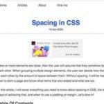 CSSにおけるスペースの与え方、paddingやmarginなどを使った実装テクニックを詳しく解説 | コリス