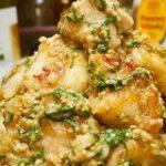 【レシピ】鶏むね肉のガーリック大葉しょうゆマヨ – しにゃごはん blog