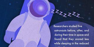 宇宙飛行士は「いびき」をかくの? | ナゾロジー