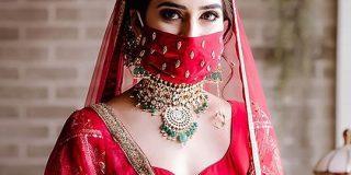 ロックダウン中のインドの結婚式で花嫁のつけた『ウエディングマスク』がめっちゃ素敵「全く違和感なし」 - Togetter