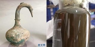 2000年前の「白鳥の壺」を発見!中には「謎の液体」が保存されていた(中国)   ナゾロジー