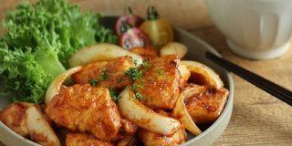 ケチャップとしょうゆで「鶏むね肉のポークチャップ風」が洋食屋さんの香りでしかなかった【山本リコピン】 - メシ通