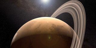 かつて火星には土星のような「輪っか」があった | ナゾロジー