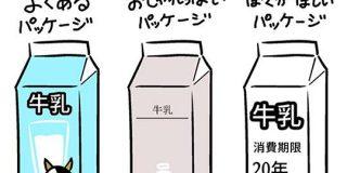 牛乳のパッケージ、おしゃれにするのもいいけど本当はこうしてほしい、という意見に同意の声多数。でも「そうすると売れない」との声も - Togetter