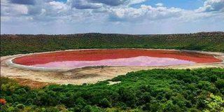 湖が一晩で「真っ赤」に変色する怪奇現象が発生。その原因とは?(インド) | ナゾロジー