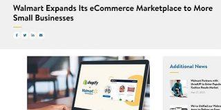 WalmartがShopifyとの提携でAmazonマーケットプレイスに対抗 - ITmedia