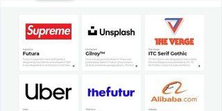 様々なブランドのロゴに使用されているフォントを紹介する・「Font In Logo」   かちびと.net