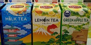 リプトンの期間限定デザインの紙パック紅茶…単体でもオシャレだが、実はこんな仕掛けがあった「売り上げ3倍になる」「戦略的パッケージ」 - Togetter