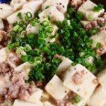 麻婆豆腐の素は出番ナシ。店のまかないでよく作ってる「白い麻婆豆腐」【ヤスナリオ】 – メシ通