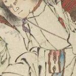 葛飾派絵師によって描かれたスサノオの沓がスニーカーにしか見えないと感じる人達。「これは『KEENのユニーク』では」「あれはG-SHOCK?」の声も – Togetter