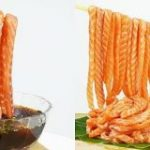 シンガポールの寿司屋が発表した、サーモンの刺身をつけ麺風にいただく『刺身ヌードル』の見た目が強すぎて反響続々「人類の罪って感じ」 – Togetter