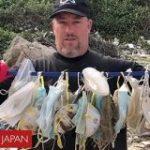 「マスクでクジラが死ぬかも」大量の防護具、世界の海で見つかる – BBC