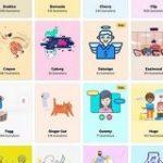 手書きイラスト苦手克服!数千種類のイラスト素材を無料ダウンロードできるサイトOuch – PhotoshopVIP