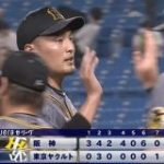 6月の阪神 19得点 今日の阪神 20得点 : 日刊やきう速報