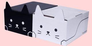 ヤマト、「ネコ耳段ボール」全国発売 カラーは白と黒 並べるとしっぽがハートに - ITmedia