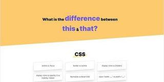 CSSやHTML、JavaScript等で、似たような挙動をするタグや方法で何が違うのかを解説する「this vs that」   かちびと.net