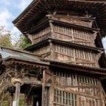 「約220年前に作ってるってやばくない?」上りと下りがつながらない二重螺旋構造の「会津さざえ堂」に行ってみた – Togetter