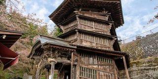 「約220年前に作ってるってやばくない?」上りと下りがつながらない二重螺旋構造の「会津さざえ堂」に行ってみた - Togetter