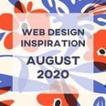2020年8月:デザインの参考にしたいWebサイト12選 | Web Design Trends
