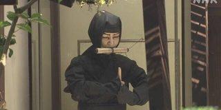 忍者博物館で100万円超入った金庫が消える | NHKニュース