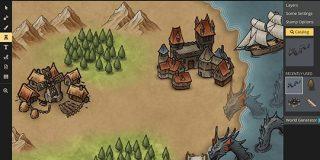 無料で簡単にファンタジーな世界観のマップを作れる「Inkarnate」を使ってみた - GIGAZINE
