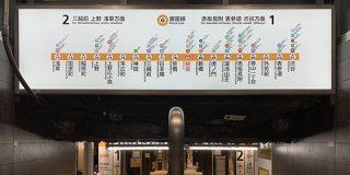 「これは間違える」銀座駅ではじめて『逆方向の電車に乗る』というミスを犯してしまった…その原因はホーム手前の案内板にあった - Togetter