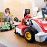 おなじみのマリオカートを自宅の床で楽しめるAR版が登場、コントローラーにSwitchを使用 | TechCrunch