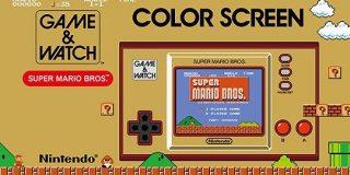 任天堂、フルカラー液晶搭載の「ゲーム&ウオッチ スーパーマリオブラザーズ」を発表 - CNET