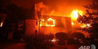 夢のワインルートが灰に…米ナパバレー山火事、有名ワイナリーも焼失:AFPBB