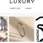 楽天、高級ブランド扱うサイト「Luxury」公開「上品でシンプルなデザイン」 – ITmedia