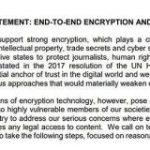 日本を含む7カ国、エンドツーエンド暗号化コンテンツへの公的接続を可能にするよう要請する国際声明 – ITmedia